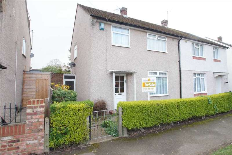 3 Bedrooms Semi Detached House for sale in Moreton Way, Cippenham, Slough