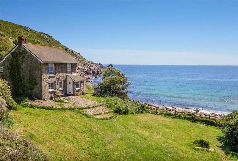 3 Bedrooms Detached House for sale in Lamorna Cove, Penzance, Cornwall, TR19