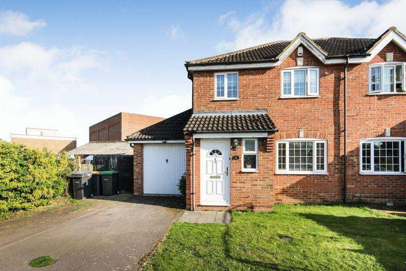 3 Bedrooms Semi Detached House for sale in School Lane, Stewartby