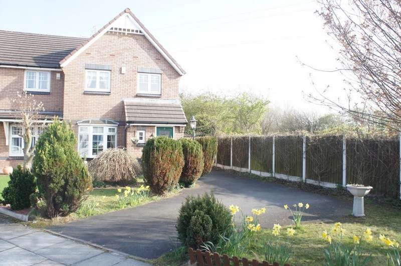 3 Bedrooms Semi Detached House for sale in Charlock Close, Bootle