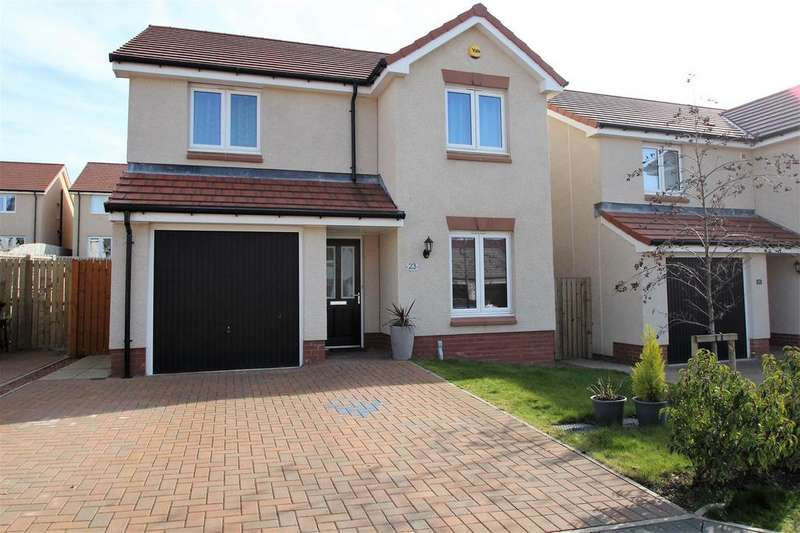 4 Bedrooms Detached House for sale in Cannon Street, Winchburgh, Broxburn