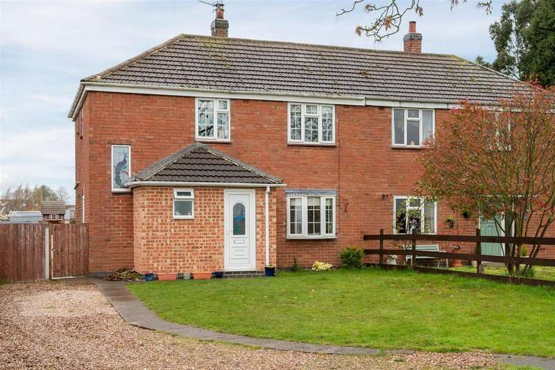 3 Bedrooms Semi Detached House for sale in The Pinfold, Newton Burgoland