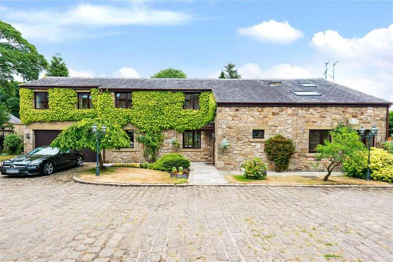 5 Bedrooms Detached House for sale in Mill Barn House, Horrobin Fold, Bolton
