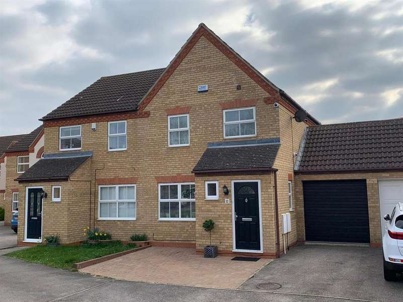 3 Bedrooms Semi Detached House for sale in Fisher Close, Barton-Le-Clay, Bedford