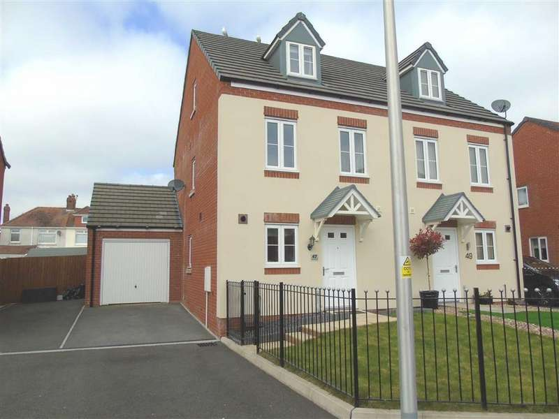 3 Bedrooms Semi Detached House for sale in Stryd Bennett, Stradey, Llanelli