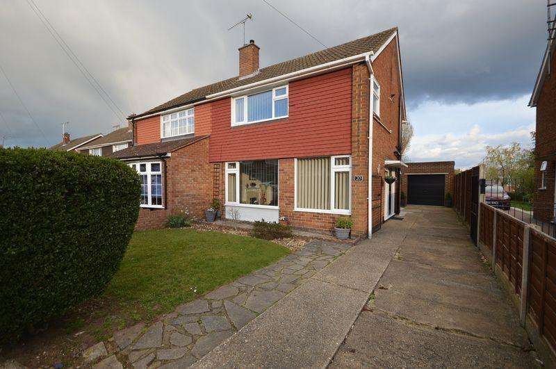 3 Bedrooms Semi Detached House for sale in Gransden Close.