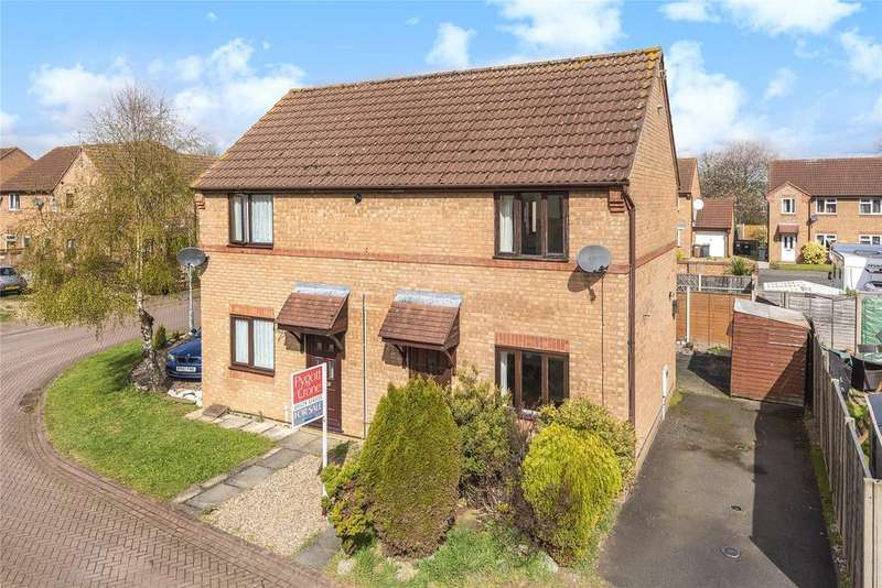 2 Bedrooms Semi Detached House for sale in Truro Close, Sleaford, NG34
