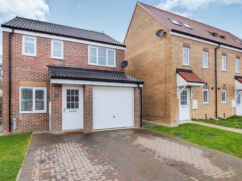 3 Bedrooms Property for sale in Oxford Close, Peterlee, Peterlee, Durham, SR8 2EF