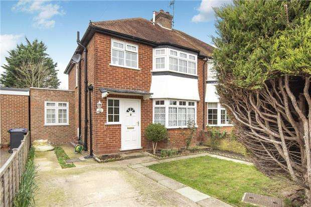 3 Bedrooms Semi Detached House for sale in Tockley Road, Burnham, Slough