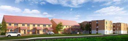 2 Bedrooms Flat for sale in Miliners Place, Caleb Close, Luton