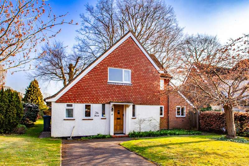 3 Bedrooms Detached House for sale in 8 Holmlea Road, Goring on Thames, RG8