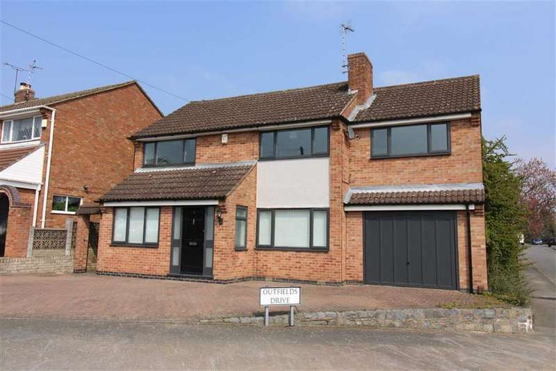4 Bedrooms Detached House for sale in Outfields Drive, Cropston