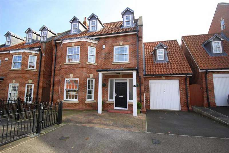 5 Bedrooms Detached House for sale in Rymers Court, Darlington