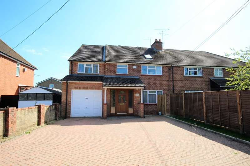 5 Bedrooms Semi Detached House for sale in Charvil House Road, Charvil, RG10