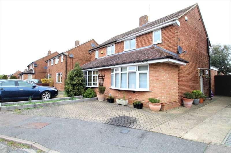 2 Bedrooms Semi Detached House for sale in Field End Close, Putteridge, Luton, LU2 8DU