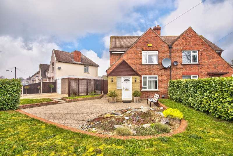 3 Bedrooms Semi Detached House for sale in Nicholls Road, Bedford, MK42 0DX
