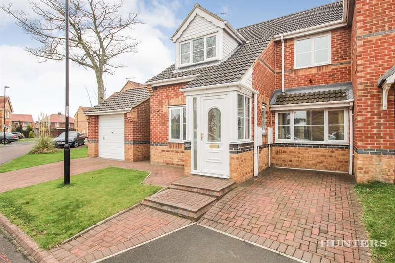 3 Bedrooms Semi Detached House for sale in Hetherset Close, Havelock Park, Sunderland, SR4 8EU