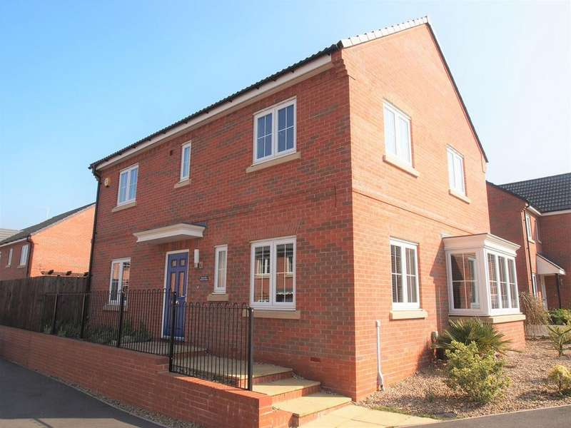 4 Bedrooms Detached House for sale in Bradford Street, Market Harborough, LE16
