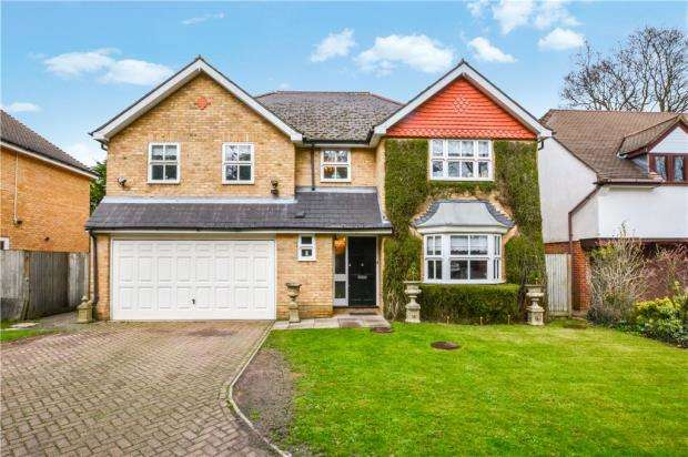 5 Bedrooms Detached House for sale in Holm Grove, Hillingdon, Middlesex