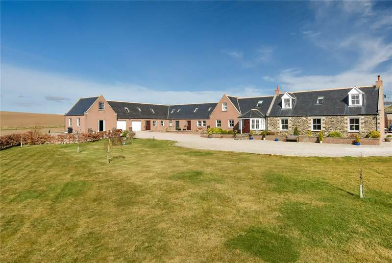 8 Bedrooms House for sale in Baikiehill Farmhouse & Steadings, Rothienorman, Inverurie, Aberdeenshire, AB51