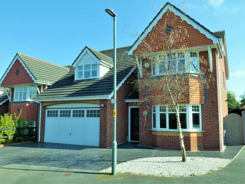 5 Bedrooms Detached House for sale in The Hedgerows, Deeside, Flintshire, CH5