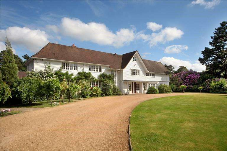6 Bedrooms Detached House for rent in Ridgemount Road, Sunningdale, Ascot, berkshire, SL5 9RS