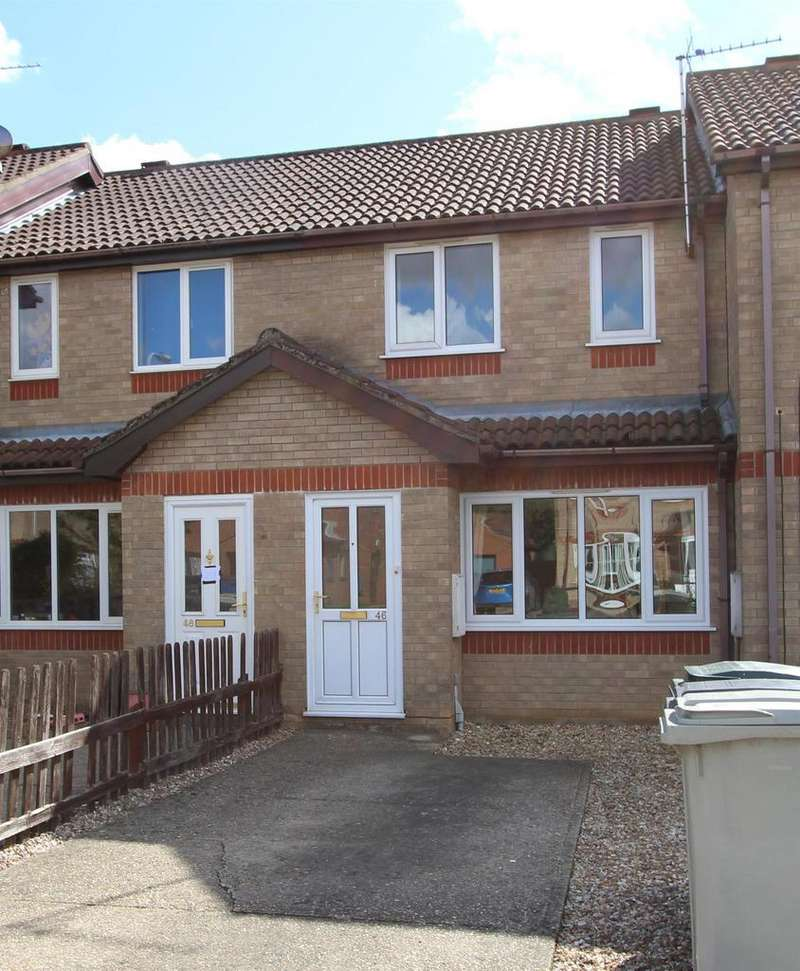 3 Bedrooms Terraced House for sale in Fulmar Drive, Louth, LN11 0ST