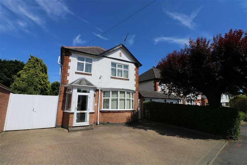 5 Bedrooms Detached House for sale in Carisbrooke Road, South Knighton, Leicester