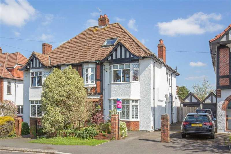 4 Bedrooms Semi Detached House for sale in Hill View, Henleaze, Bristol