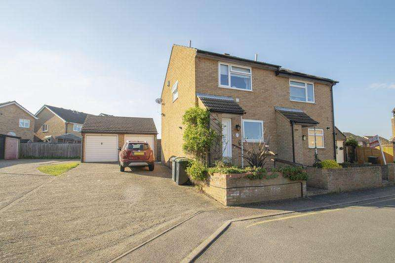 2 Bedrooms Semi Detached House for sale in Derwent Rise, Flitwick