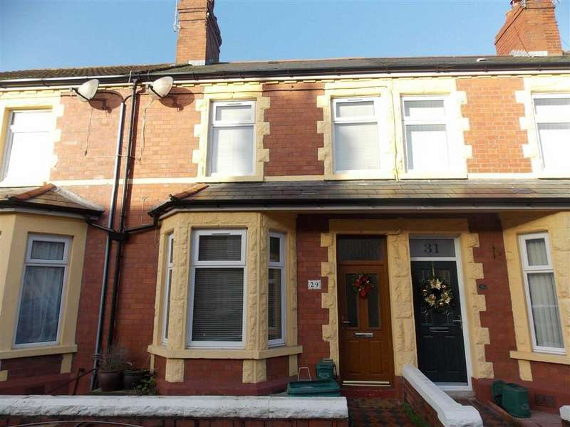 3 Bedrooms Terraced House for rent in Bendrick Road, Barry, Vale Of Glamorgan