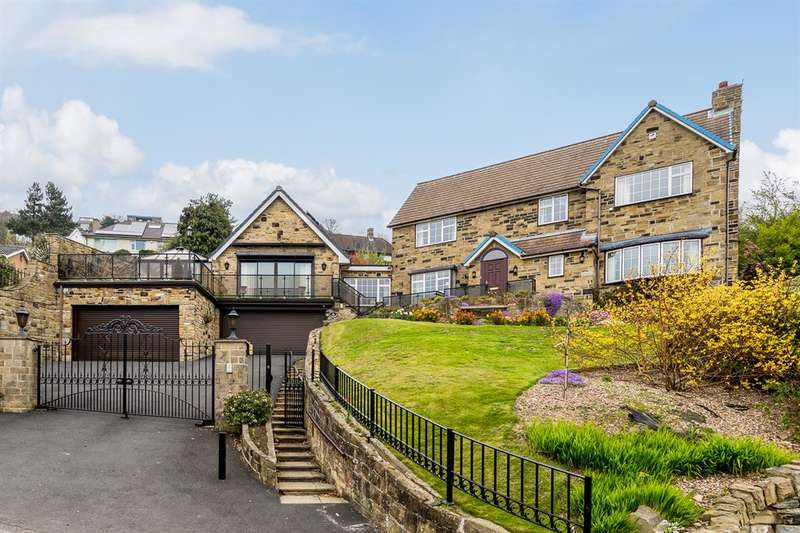 4 Bedrooms Detached House for sale in Jacksons Lane, Thornhill, Dewsbury, WF12 0NS