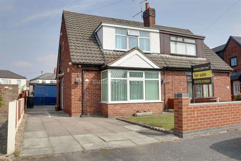 3 Bedrooms Semi Detached House for sale in Cheltenham Crescent, Crewe
