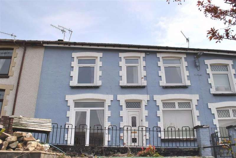 3 Bedrooms Terraced House for sale in Brookland View, New Tredegar