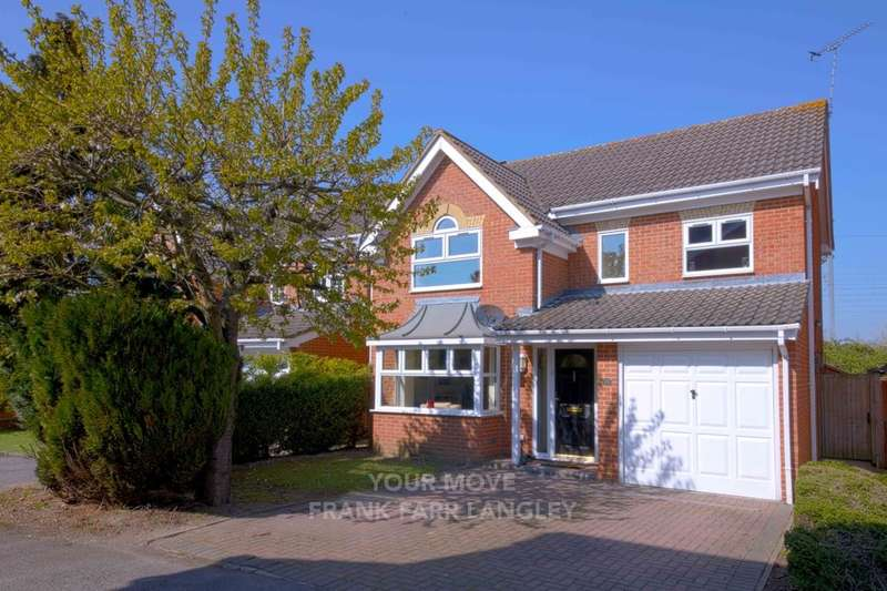 4 Bedrooms Detached House for sale in Southwold Spur, Langley, Slough, SL3