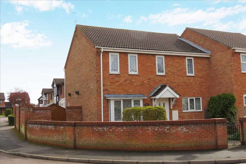 4 Bedrooms Semi Detached House for sale in Cobham Close, Heckington