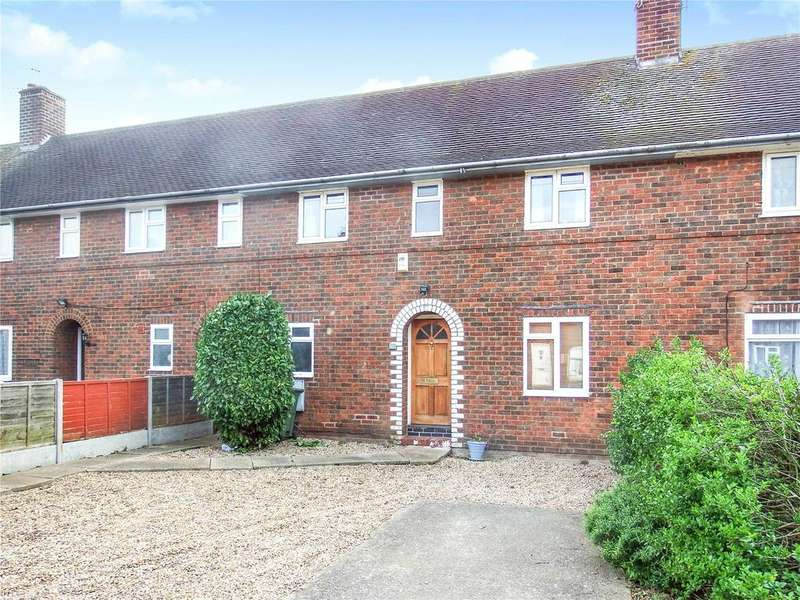 3 Bedrooms Terraced House for sale in Woodthorpe Avenue, Loughborough, Leicestershire, LE11