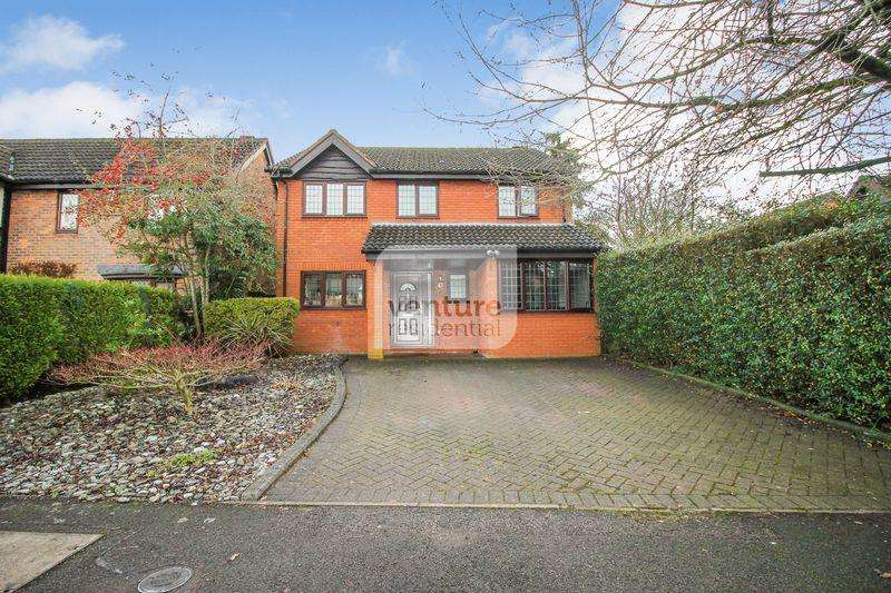 5 Bedrooms Detached House for sale in Copthorne, Luton