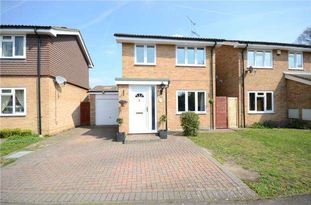 3 Bedrooms Detached House for sale in Moray Avenue, College Town, Sandhurst