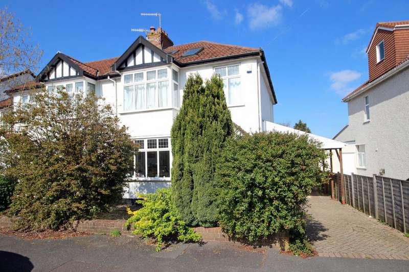 3 Bedrooms Semi Detached House for sale in Cransley Crescent, Henleaze, Bristol, BS9