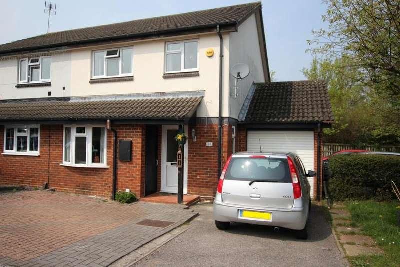 3 Bedrooms Semi Detached House for sale in Sirius Close, Wokingham, RG41