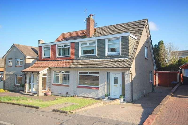 3 Bedrooms Semi Detached House for sale in Breval Crescent, Duntocher G81 6LR
