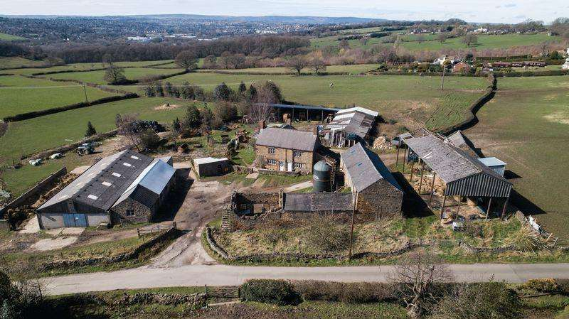 3 Bedrooms Farm House Character Property for sale in Lot 1: The Farm, Back Road, Apperknowle, Dronfield