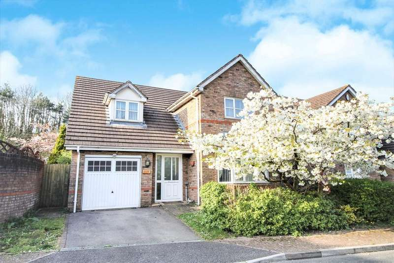 4 Bedrooms Detached House for sale in Nant-Y-Moor Close, Coedkernew, Newport, NP10