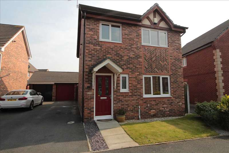3 Bedrooms Detached House for sale in Brentwood Grove, Kirkby
