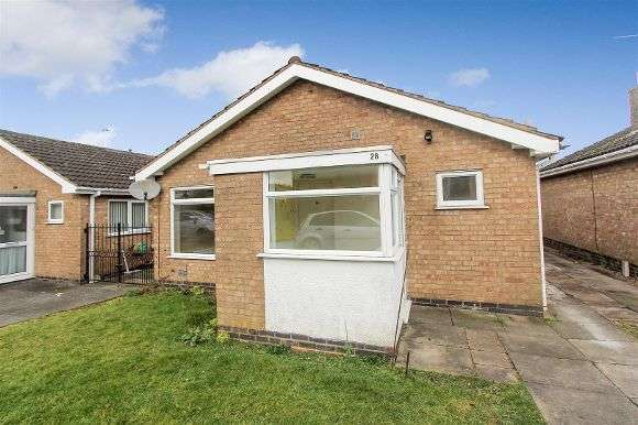 3 Bedrooms Detached Bungalow for sale in Frome Avenue, Oadby, Leicester