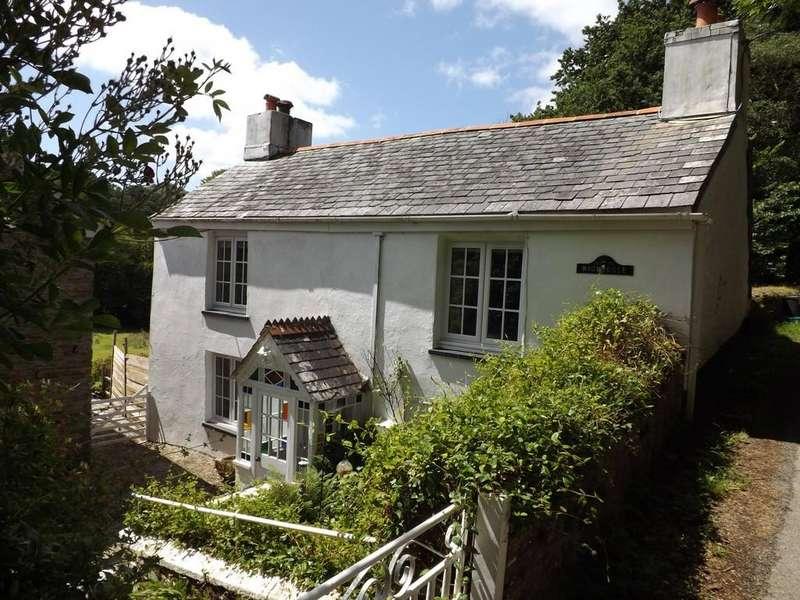 4 Bedrooms Detached House for sale in Golberdon, Callington