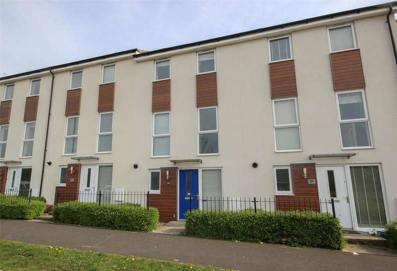 3 Bedrooms Terraced House for sale in Over Drive, Charlton Hayes, Patchway, Bristol, BS34