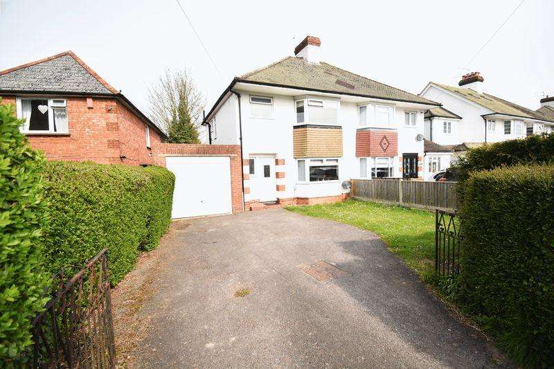3 Bedrooms Semi Detached House for sale in Winchester Road, Basingstoke