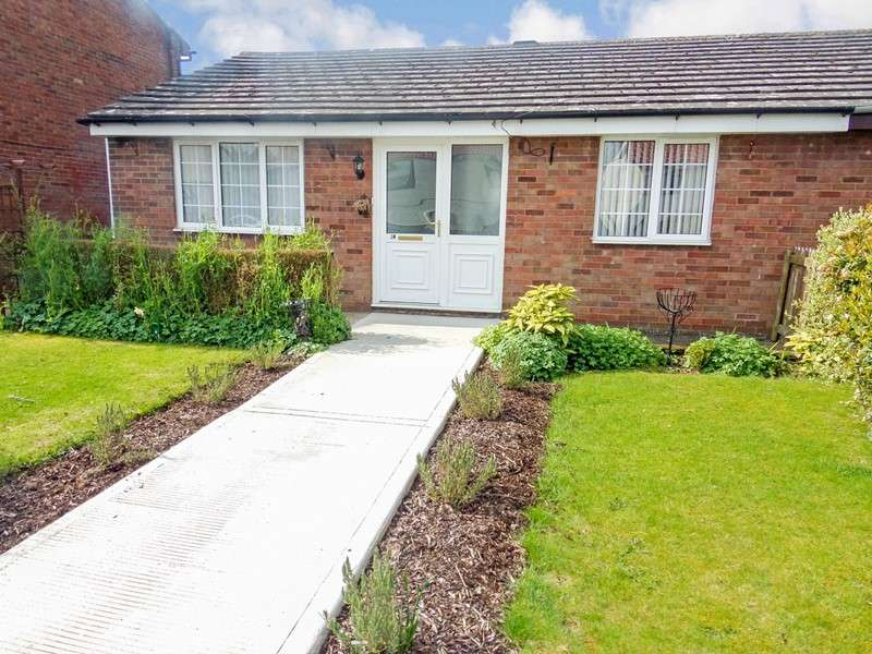2 Bedrooms Bungalow for sale in Williams Way, Belford, Northumberland, NE70 7NX